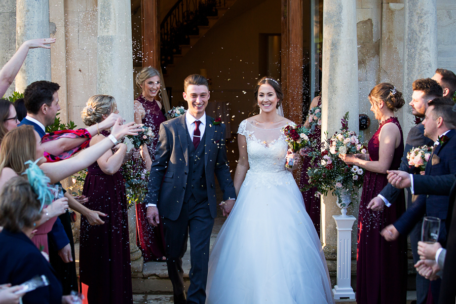 Glorious winter sun for Wendy & Rich's Eastington Park wedding, with Martin Dabek Photography (10)