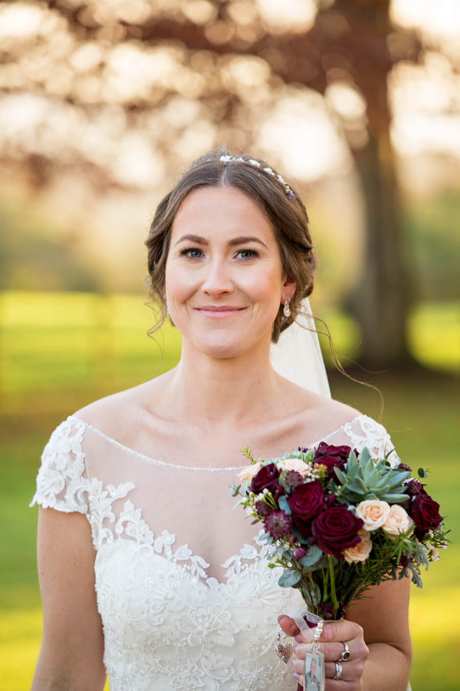 Glorious winter sun for Wendy & Rich's Eastington Park wedding, with Martin Dabek Photography (11)