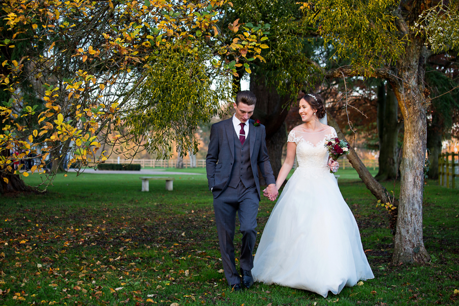 Glorious winter sun for Wendy & Rich's Eastington Park wedding, with Martin Dabek Photography (16)