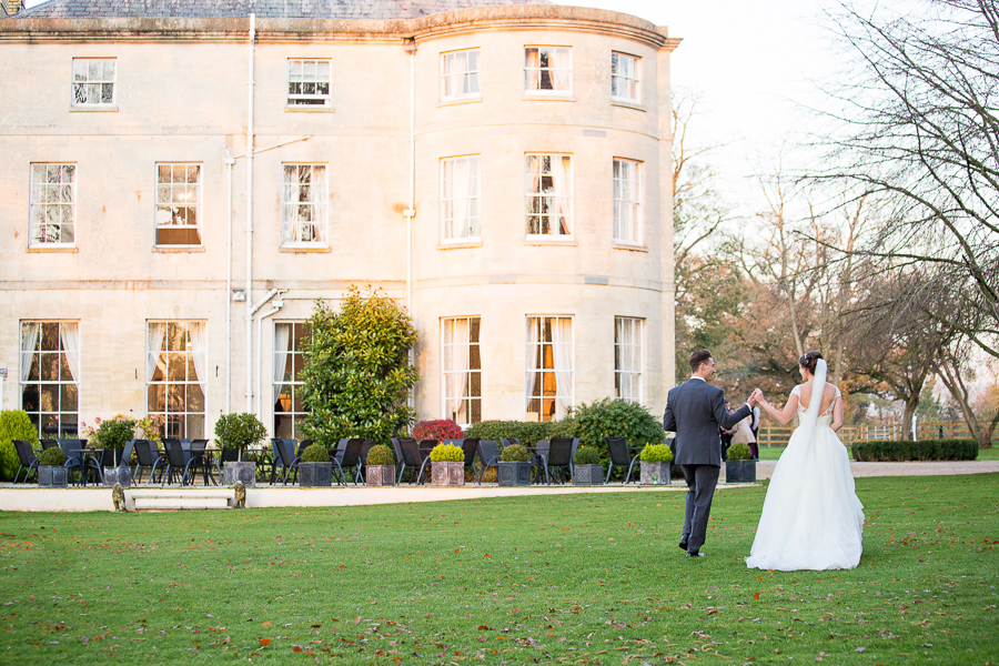 Glorious winter sun for Wendy & Rich's Eastington Park wedding, with Martin Dabek Photography (19)