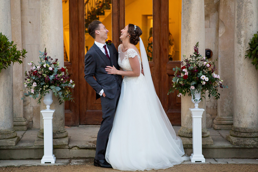 Glorious winter sun for Wendy & Rich's Eastington Park wedding, with Martin Dabek Photography (24)