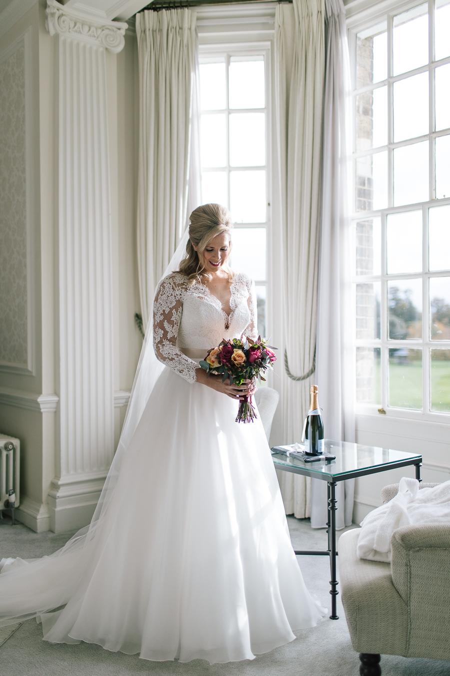 Madeleine & Andrew's elegant autumn wedding at Hedsor, with Katherine Yiannaki Photography (22)