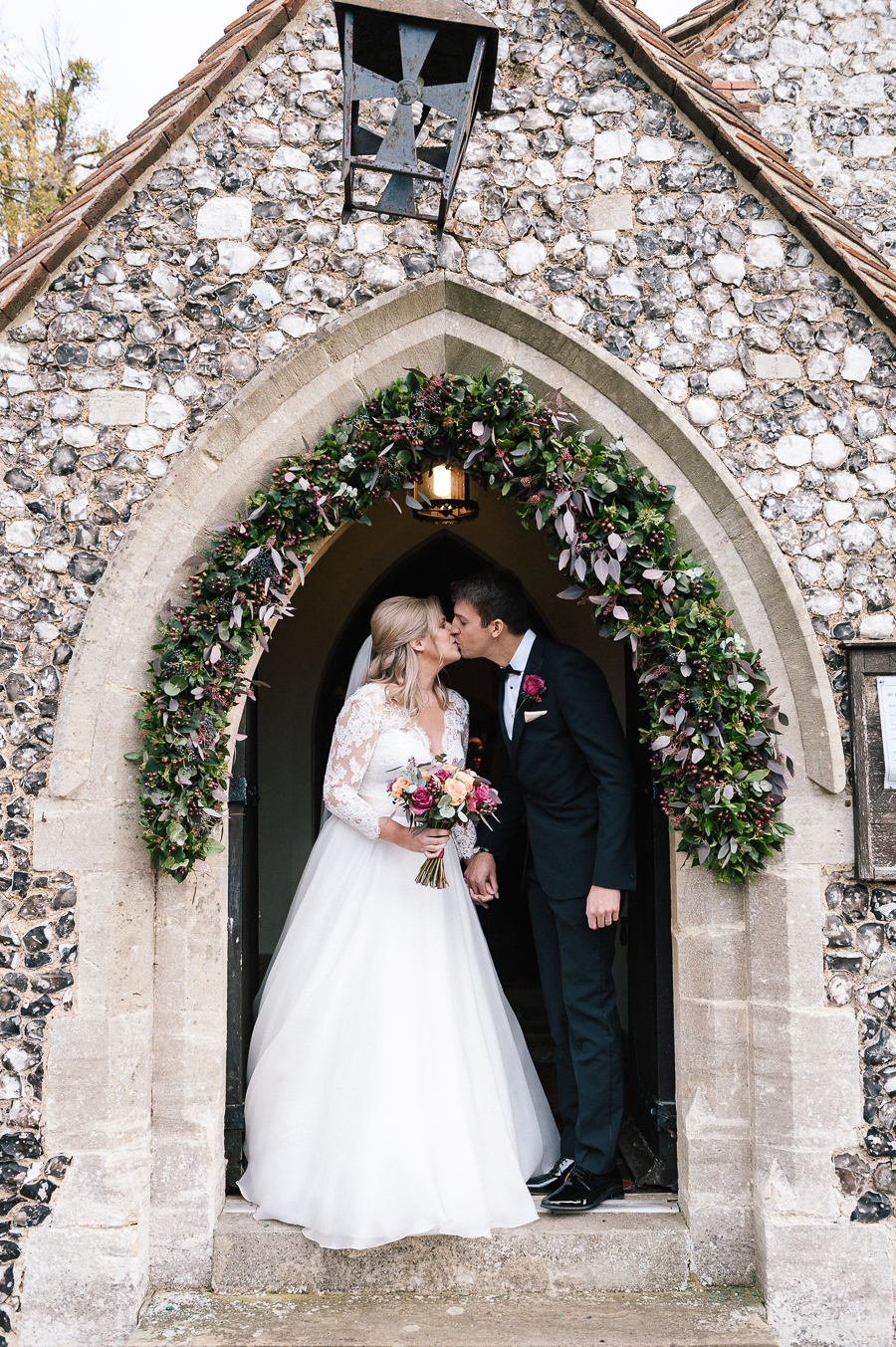 Madeleine & Andrew's elegant autumn wedding at Hedsor, with Katherine Yiannaki Photography (25)