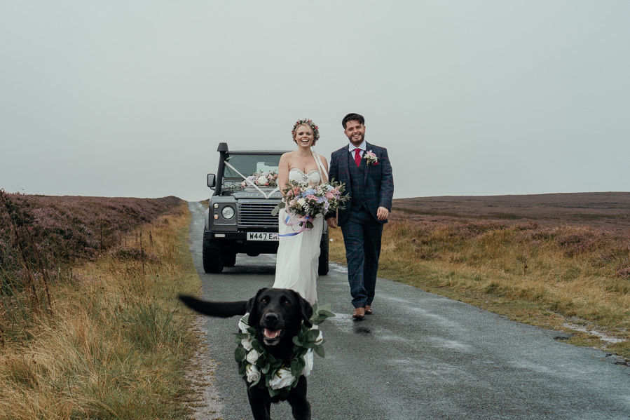Rural English wedding style at Danby Castle, photo credit Rosanna Lilly Photography (30)