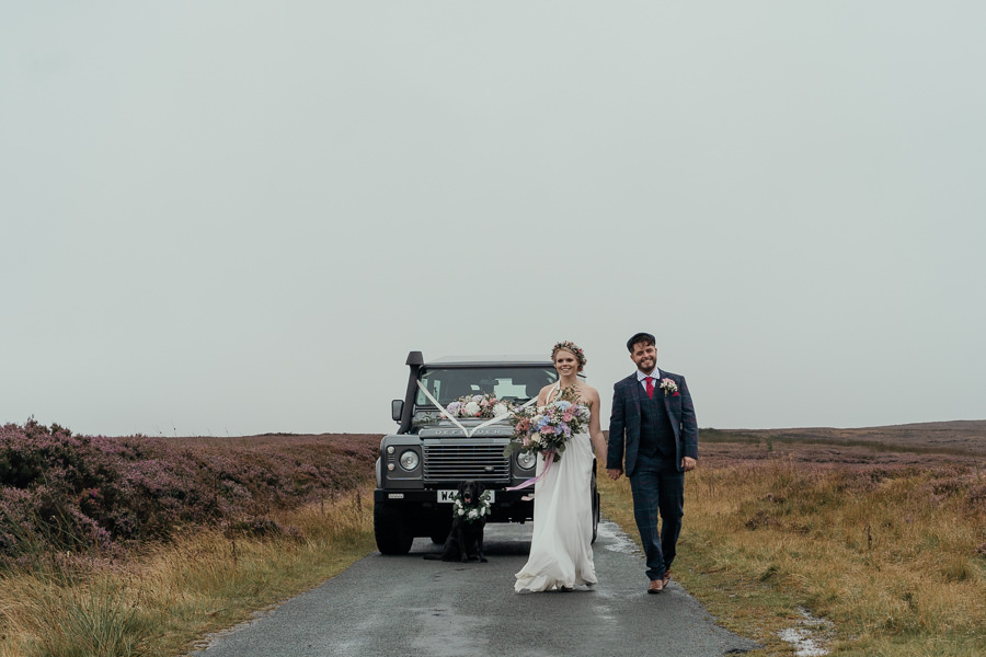 Rural English wedding style at Danby Castle, photo credit Rosanna Lilly Photography (29)