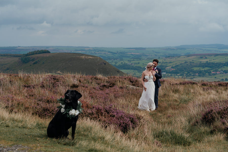 Rural English wedding style at Danby Castle, photo credit Rosanna Lilly Photography (25)