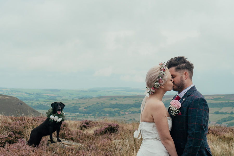 Rural English wedding style at Danby Castle, photo credit Rosanna Lilly Photography (23)