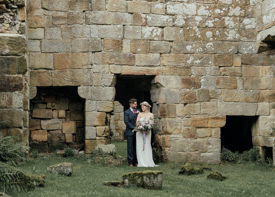 Rural English wedding style at Danby Castle, photo credit Rosanna Lilly Photography (33)