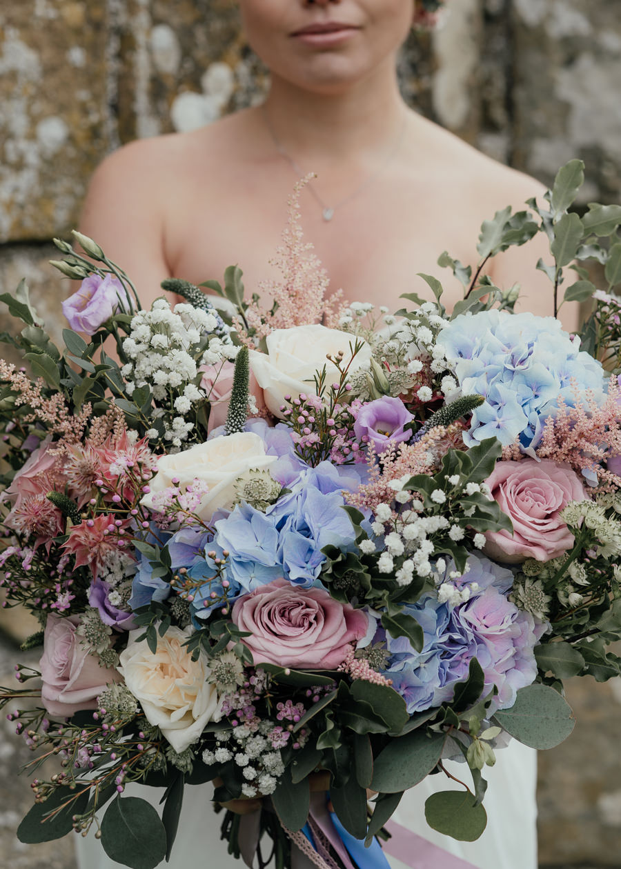 Rural English wedding style at Danby Castle, photo credit Rosanna Lilly Photography (22)