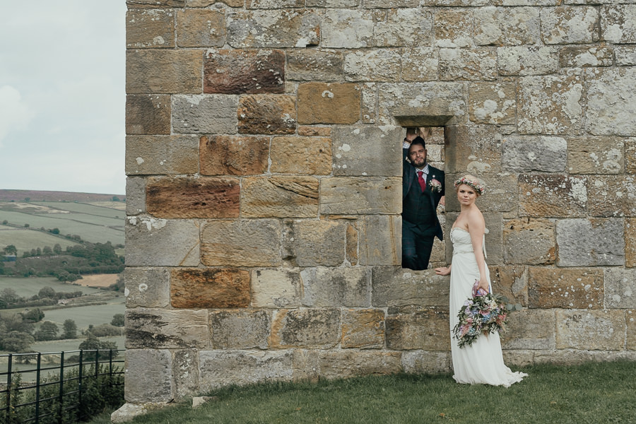 Rural English wedding style at Danby Castle, photo credit Rosanna Lilly Photography (21)