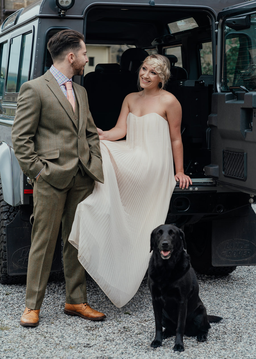 Rural English wedding style at Danby Castle, photo credit Rosanna Lilly Photography (17)