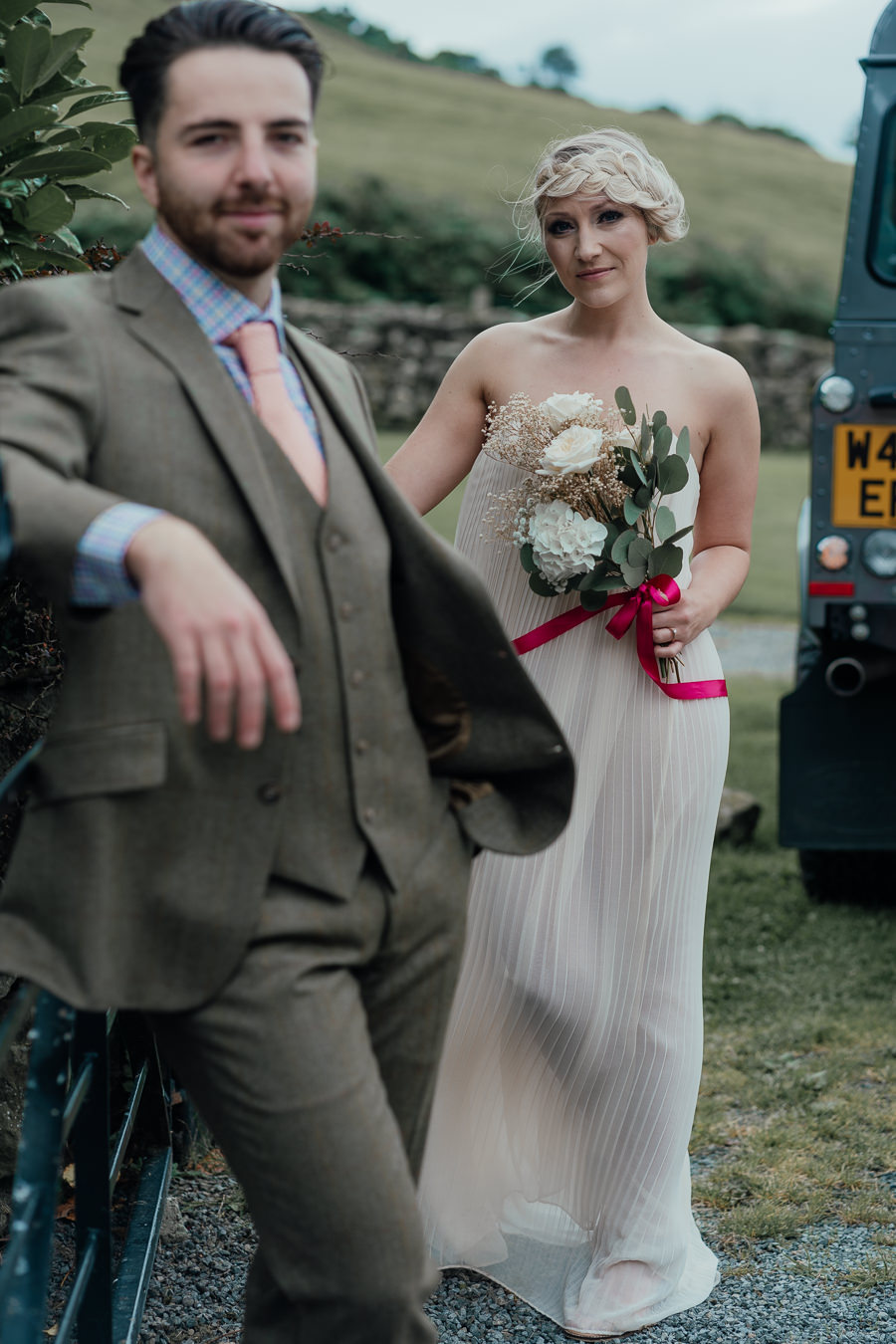 Rural English wedding style at Danby Castle, photo credit Rosanna Lilly Photography (14)