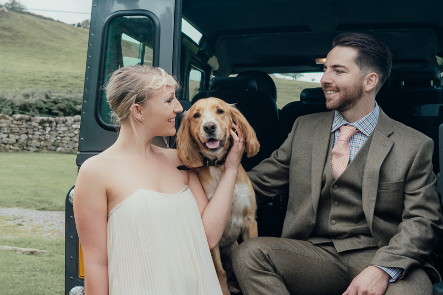 Rural English wedding style at Danby Castle, photo credit Rosanna Lilly Photography (13)