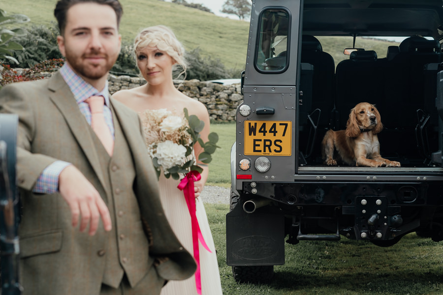 Rural English wedding style at Danby Castle, photo credit Rosanna Lilly Photography (12)