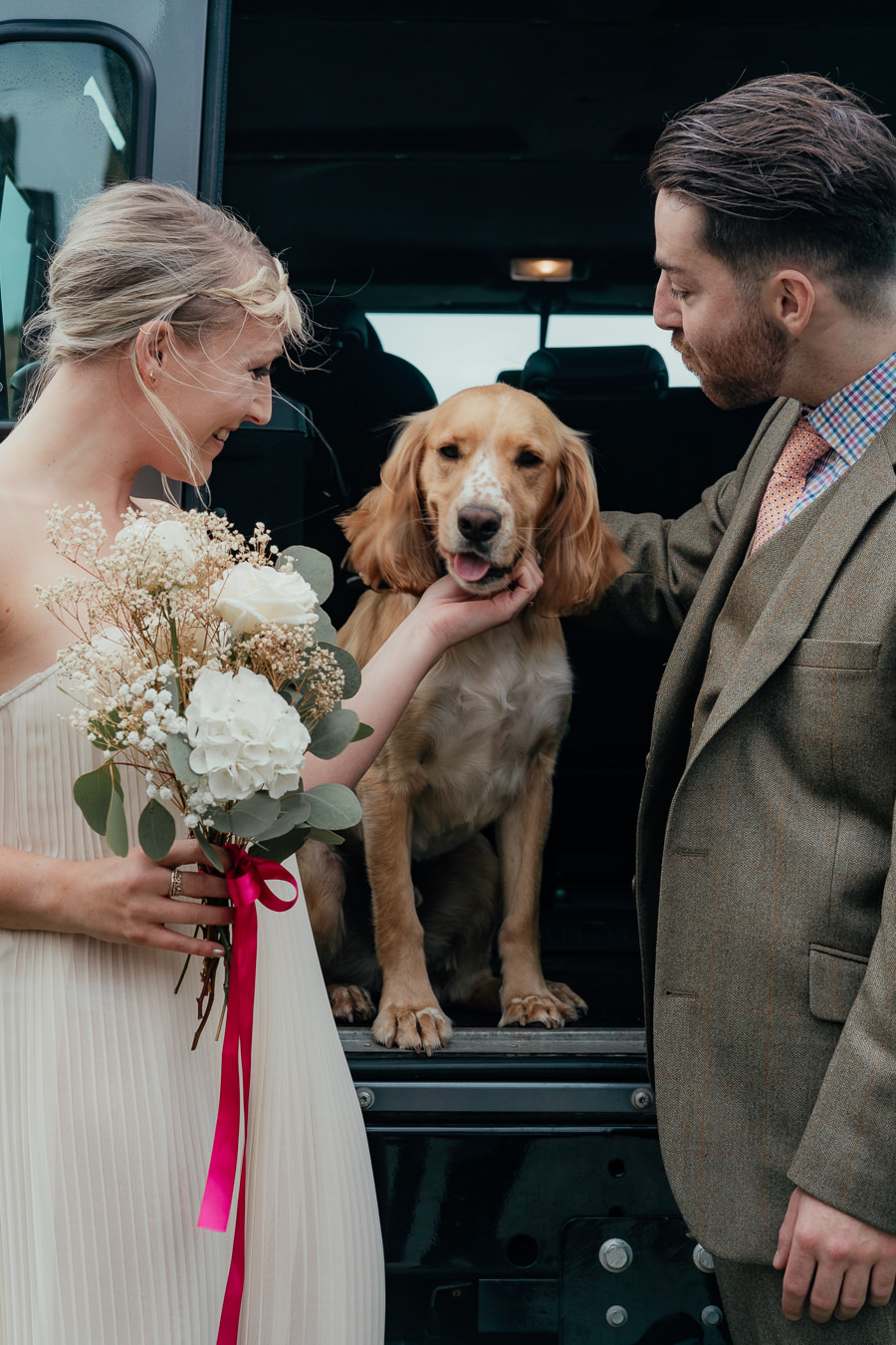Rural English wedding style at Danby Castle, photo credit Rosanna Lilly Photography (11)