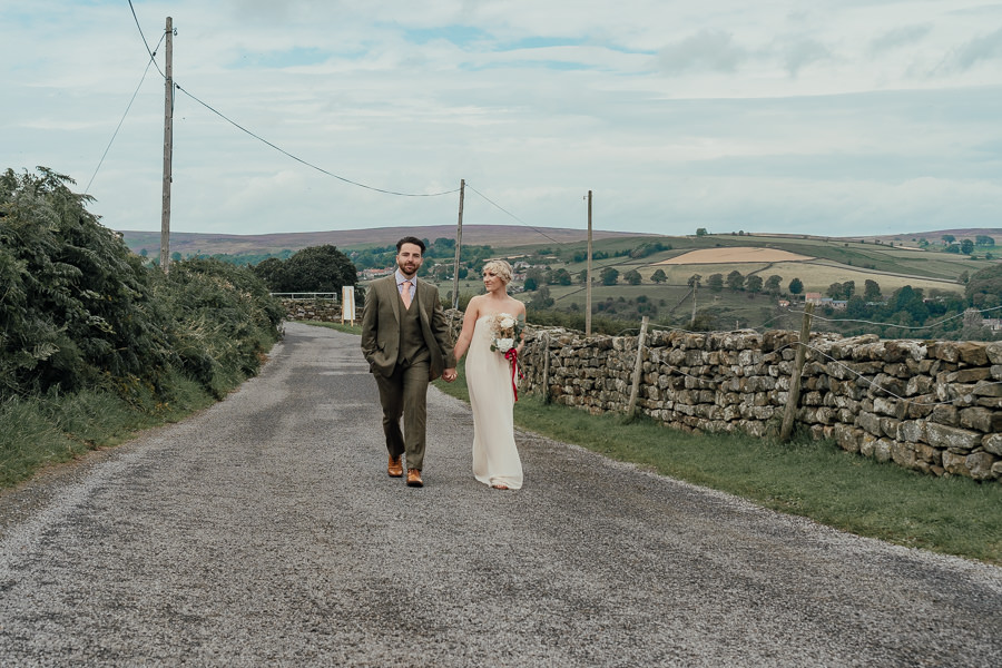 Rural English wedding style at Danby Castle, photo credit Rosanna Lilly Photography (10)