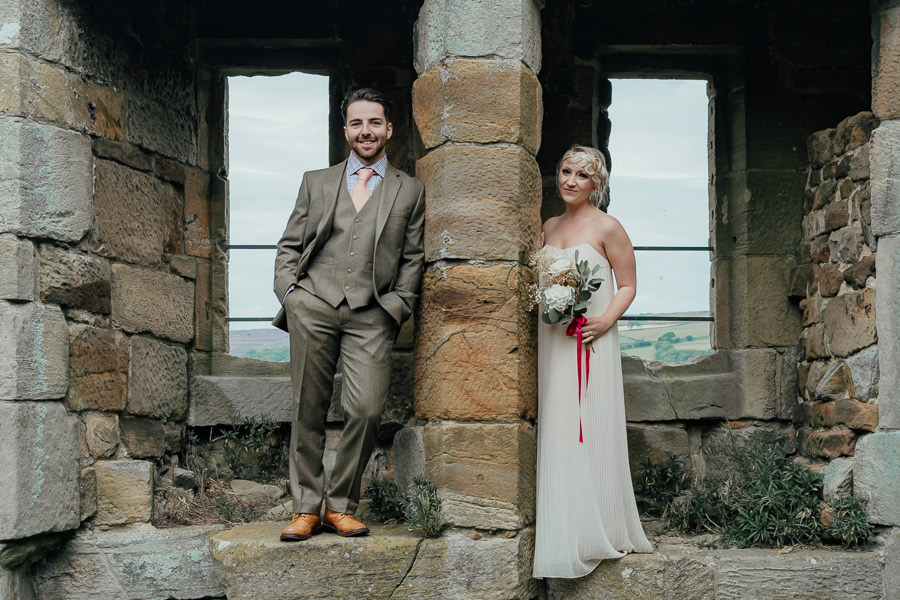 Rural English wedding style at Danby Castle, photo credit Rosanna Lilly Photography (9)