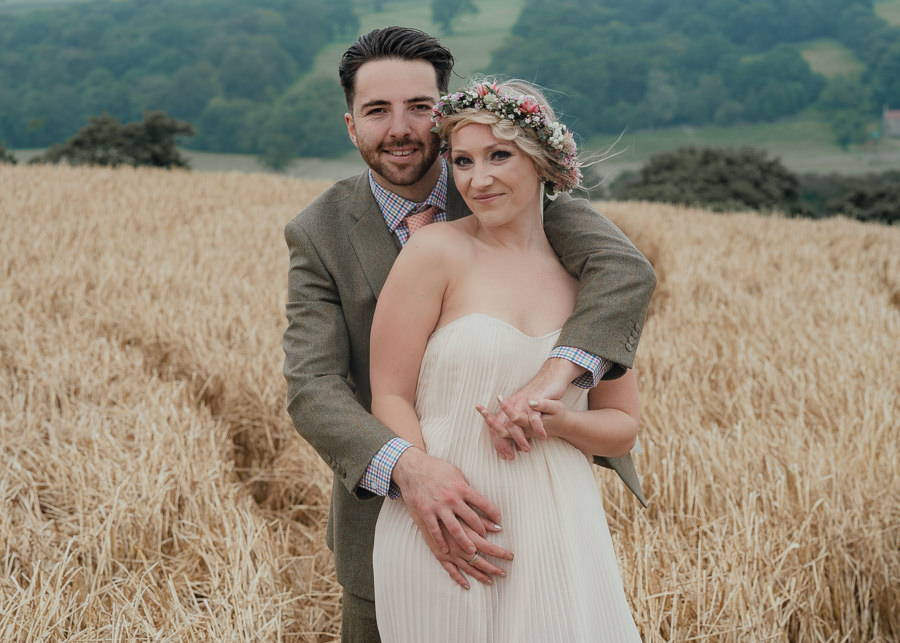Rural English wedding style at Danby Castle, photo credit Rosanna Lilly Photography (5)