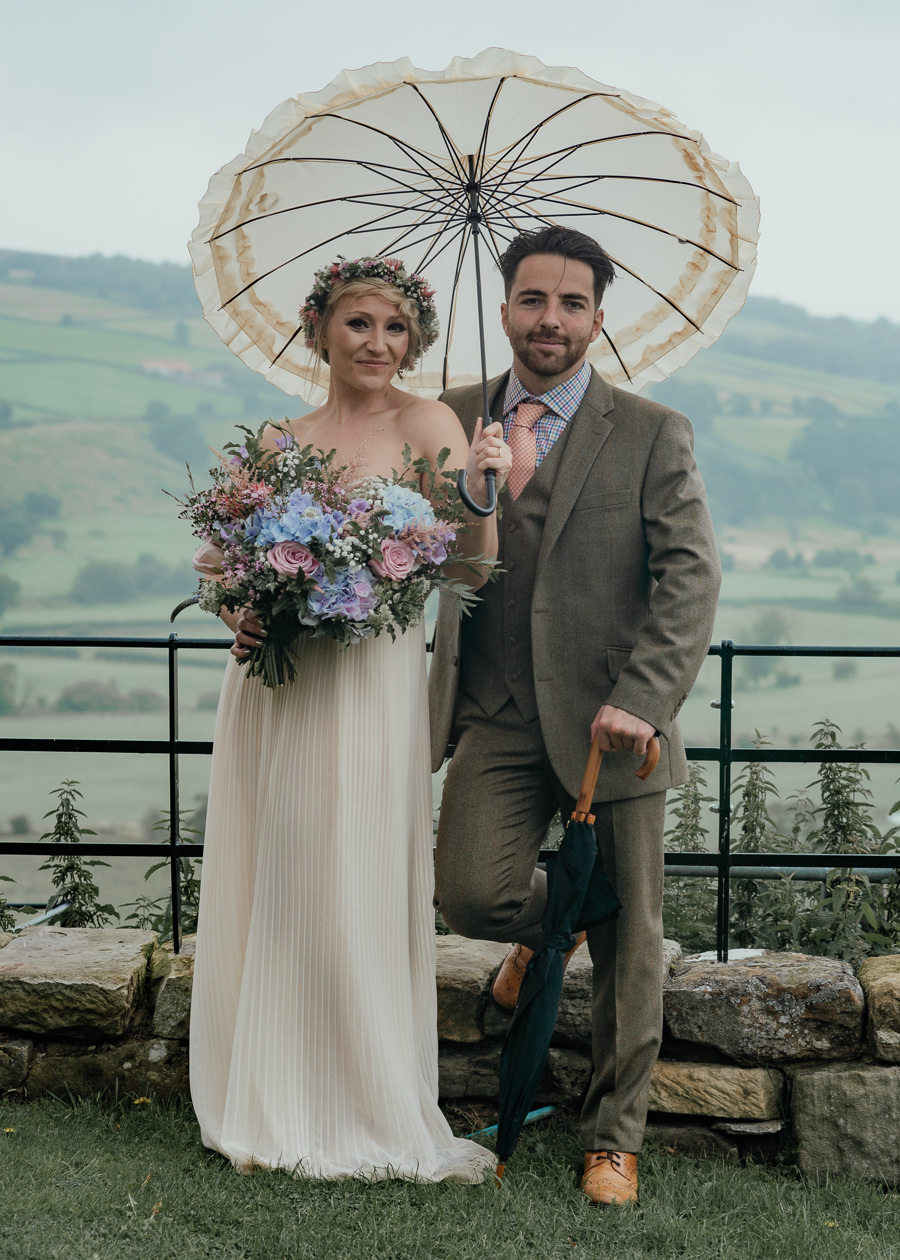 Rural English wedding style at Danby Castle, photo credit Rosanna Lilly Photography (35)