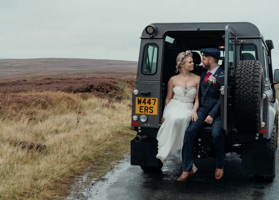 Rural English wedding style at Danby Castle, photo credit Rosanna Lilly Photography (31)