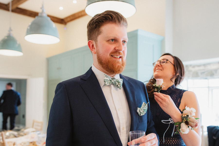 Dark green and gold for Martha & Phil's glorious Bruisyard wedding, with Emily Tyler Photography (1)