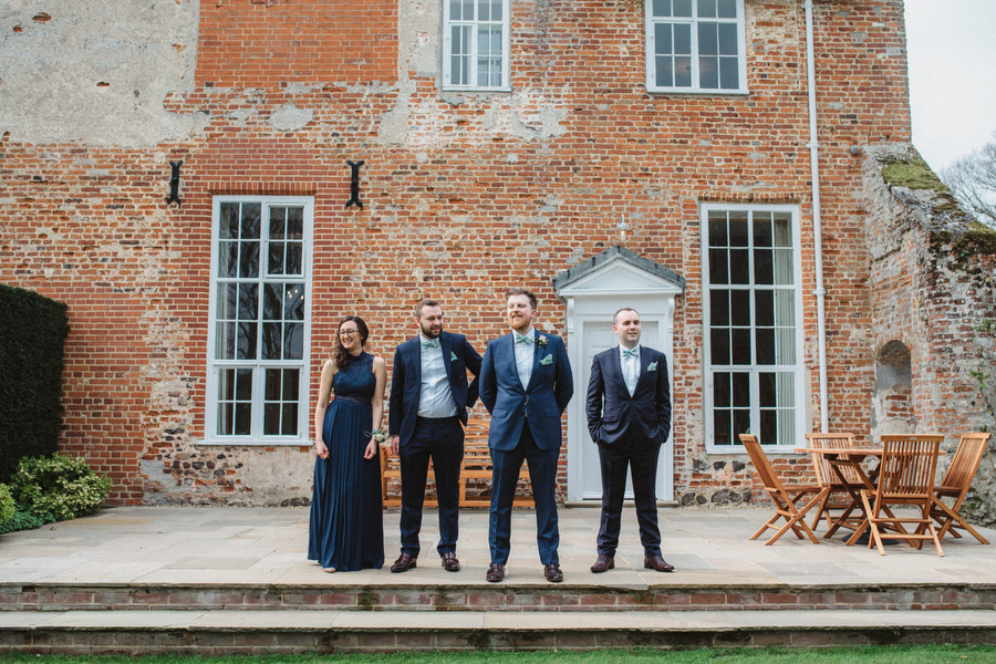 Dark green and gold for Martha & Phil's glorious Bruisyard wedding, with Emily Tyler Photography (6)