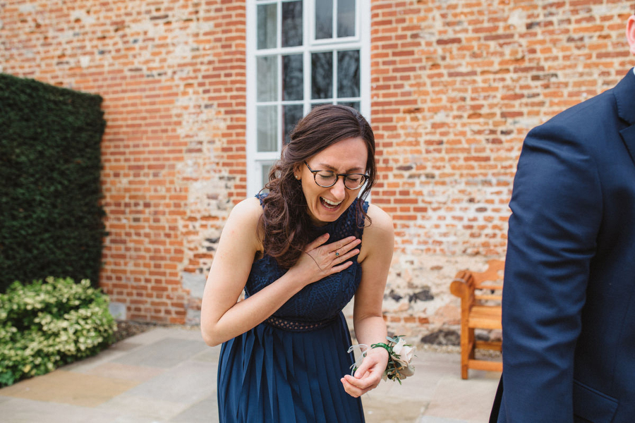 Dark green and gold for Martha & Phil's glorious Bruisyard wedding, with Emily Tyler Photography (7)