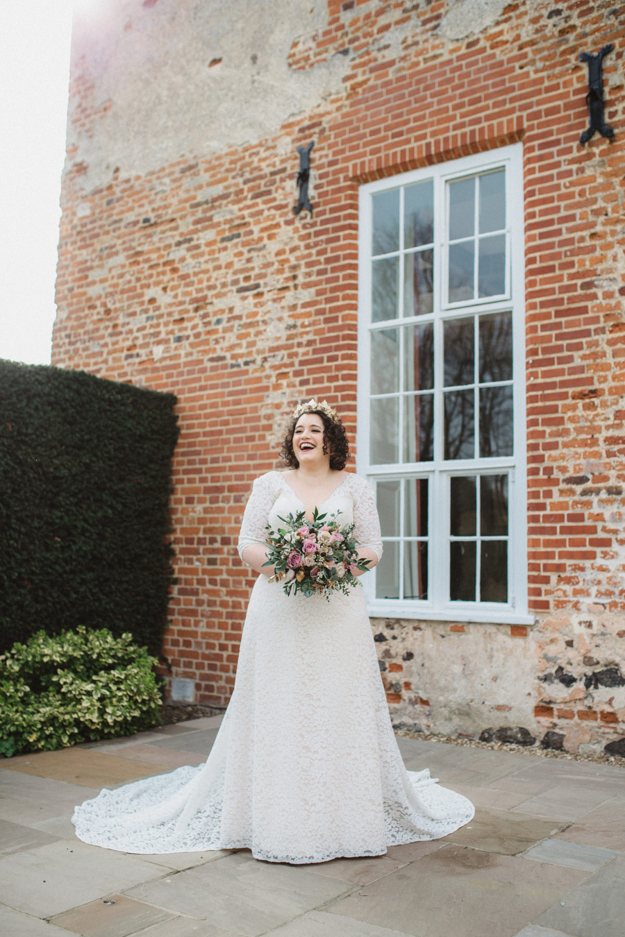 Dark green and gold for Martha & Phil's glorious Bruisyard wedding, with Emily Tyler Photography (14)