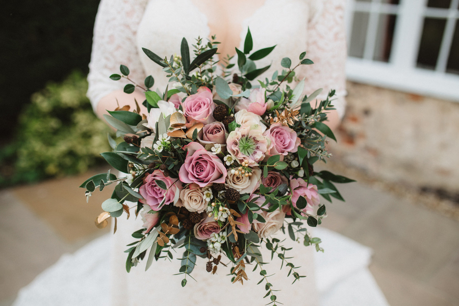 Dark green and gold for Martha & Phil's glorious Bruisyard wedding, with Emily Tyler Photography (15)
