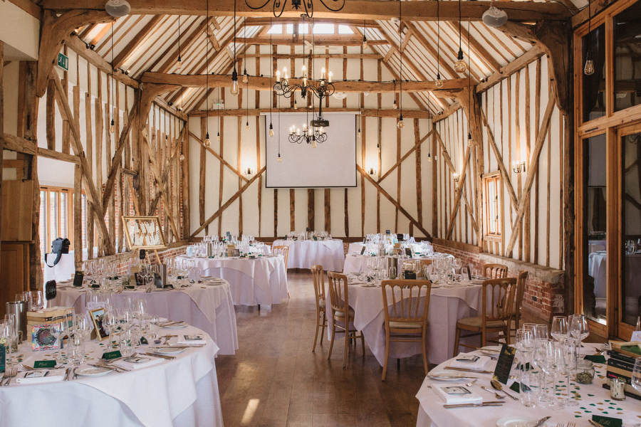 Dark green and gold for Martha & Phil's glorious Bruisyard wedding, with Emily Tyler Photography (17)