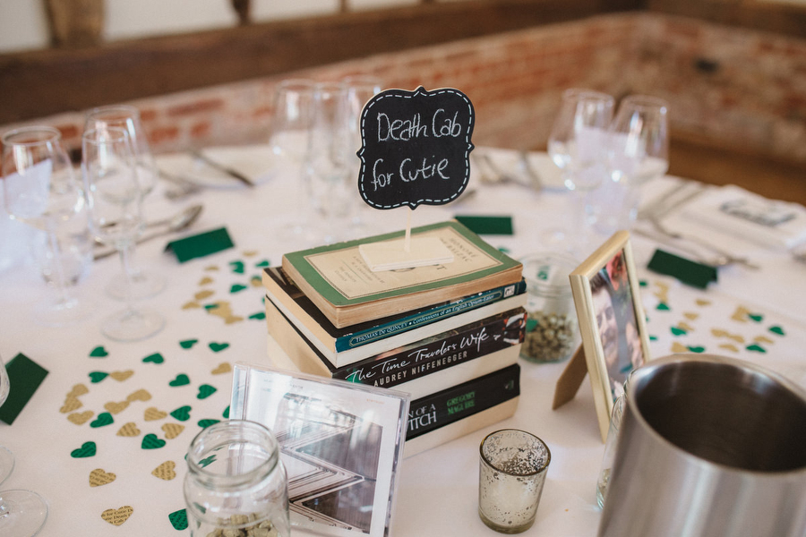 Dark green and gold for Martha & Phil's glorious Bruisyard wedding, with Emily Tyler Photography (21)