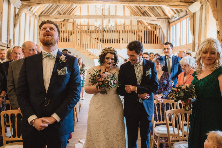 Dark green and gold for Martha & Phil's glorious Bruisyard wedding, with Emily Tyler Photography (22)