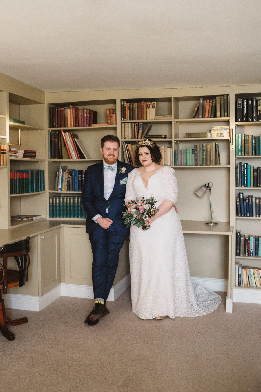 Dark green and gold for Martha & Phil's glorious Bruisyard wedding, with Emily Tyler Photography (26)