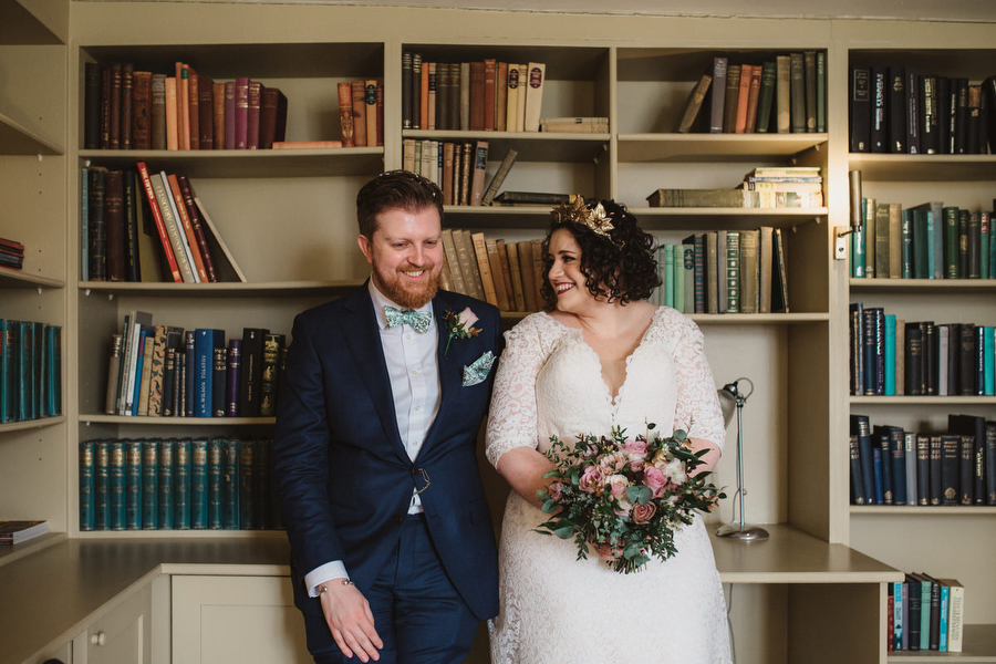 Dark green and gold for Martha & Phil's glorious Bruisyard wedding, with Emily Tyler Photography (27)
