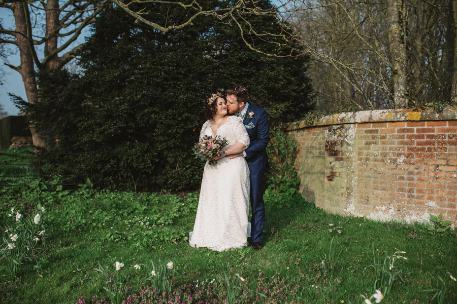 Dark green and gold for Martha & Phil's glorious Bruisyard wedding, with Emily Tyler Photography (30)