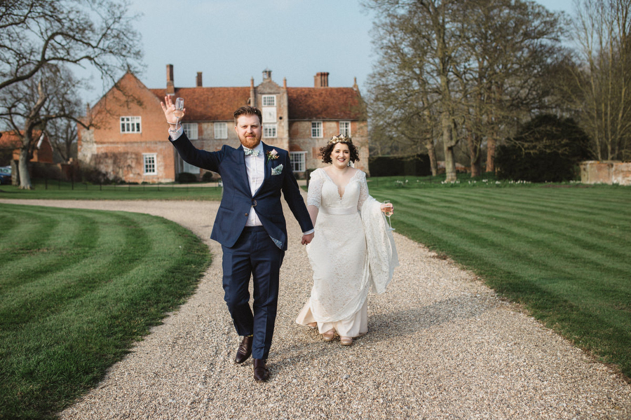 Dark green and gold for Martha & Phil's glorious Bruisyard wedding, with Emily Tyler Photography (33)