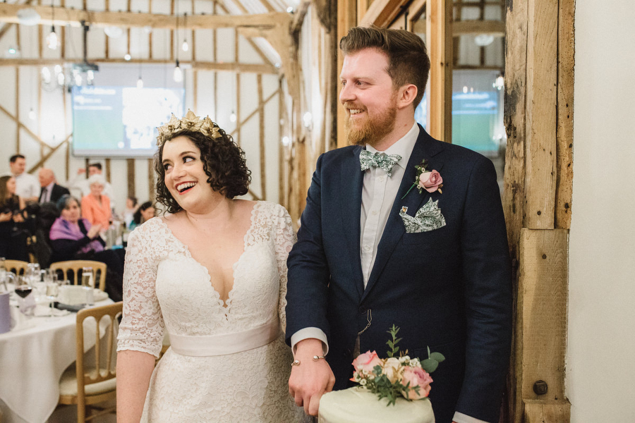 Dark green and gold for Martha & Phil's glorious Bruisyard wedding, with Emily Tyler Photography (38)