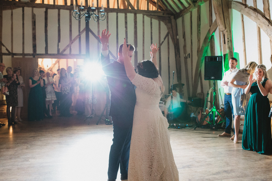 Dark green and gold for Martha & Phil's glorious Bruisyard wedding, with Emily Tyler Photography (40)
