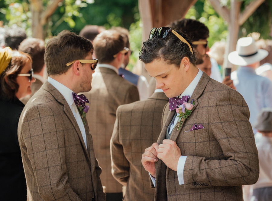 Josie and Joe's amazing summer tipi wedding, image credit Benjamin Wetherall Photography (31)