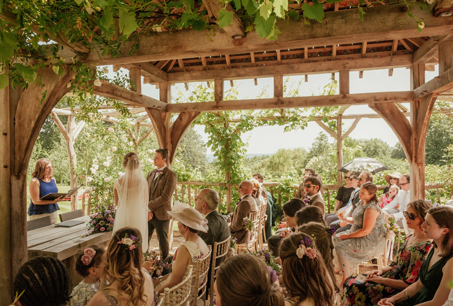 Josie and Joe's amazing summer tipi wedding, image credit Benjamin Wetherall Photography (33)