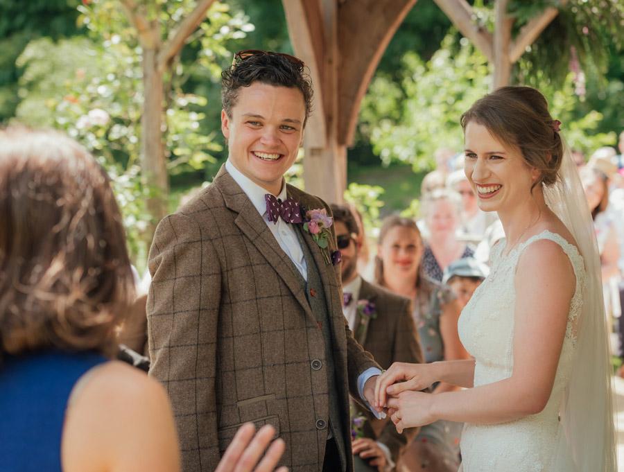 Josie and Joe's amazing summer tipi wedding, image credit Benjamin Wetherall Photography (34)