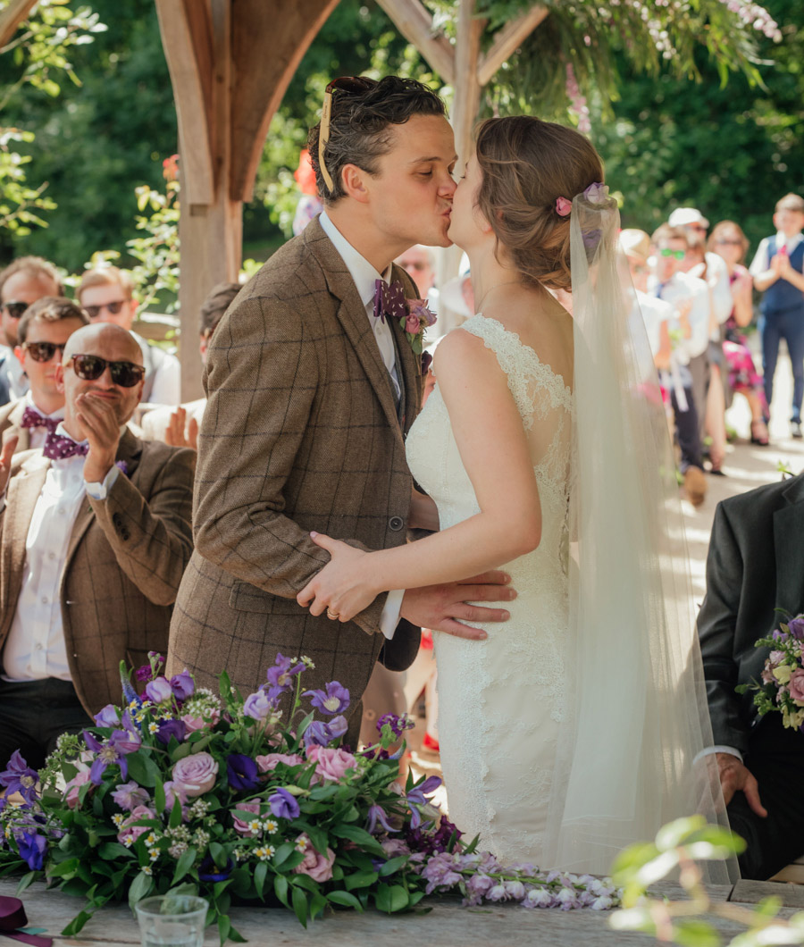 Josie and Joe's amazing summer tipi wedding, image credit Benjamin Wetherall Photography (36)
