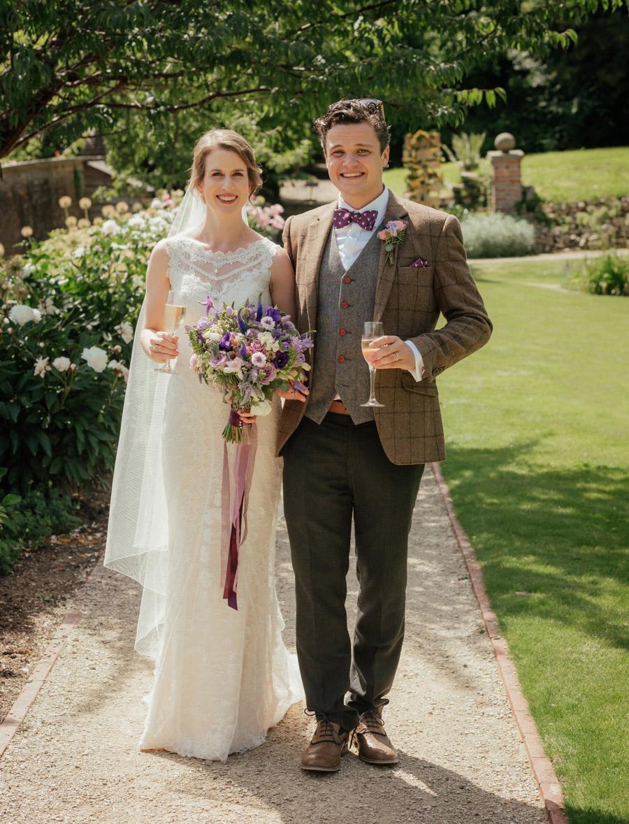 Josie and Joe's amazing summer tipi wedding, image credit Benjamin Wetherall Photography (38)