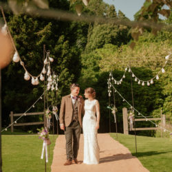 Josie and Joe's atmospheric summer party wedding with Benjamin Wetherall Photography