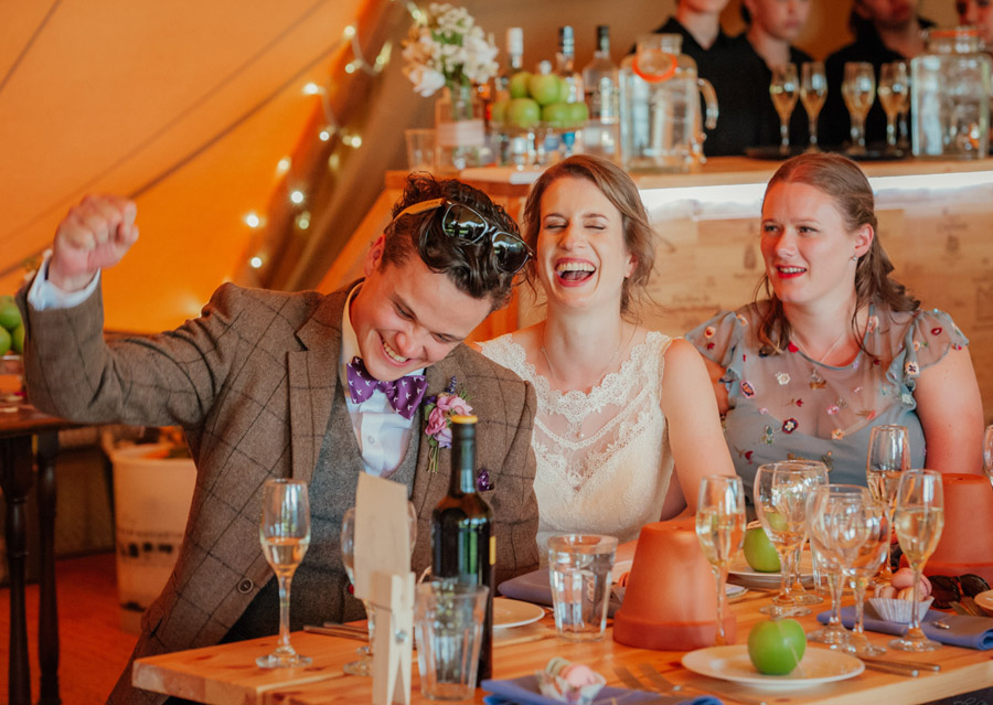 Josie and Joe's amazing summer tipi wedding, image credit Benjamin Wetherall Photography (57)