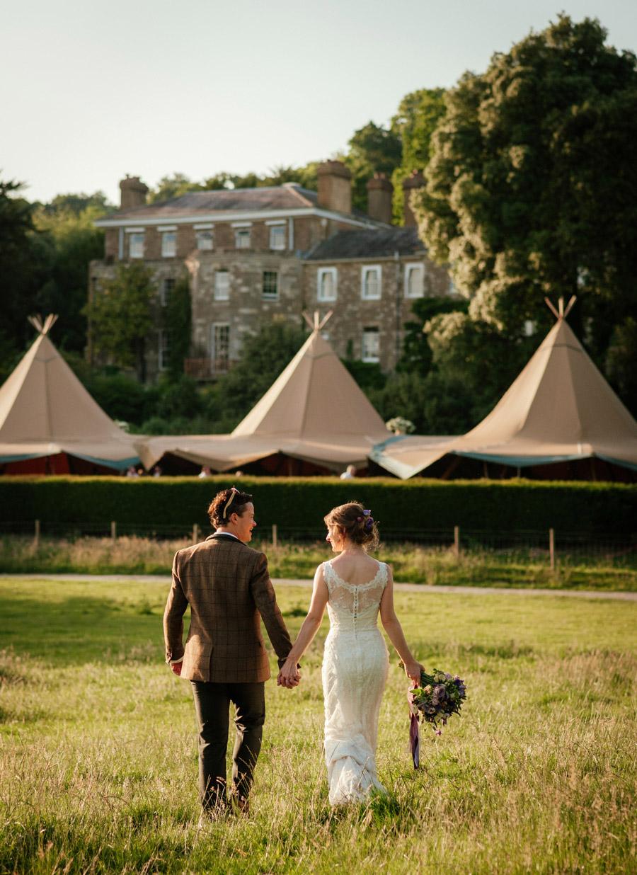 Josie and Joe's amazing summer tipi wedding, image credit Benjamin Wetherall Photography (63)