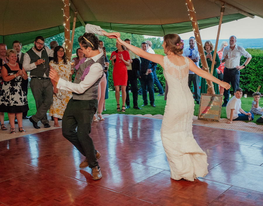 Josie and Joe's amazing summer tipi wedding, image credit Benjamin Wetherall Photography (64)