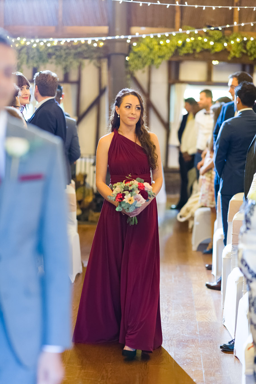 A Jenny Packham bride at The Plough at Leigh, with Terence Joseph Photography (7)