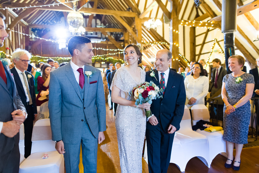A Jenny Packham bride at The Plough at Leigh, with Terence Joseph Photography (8)
