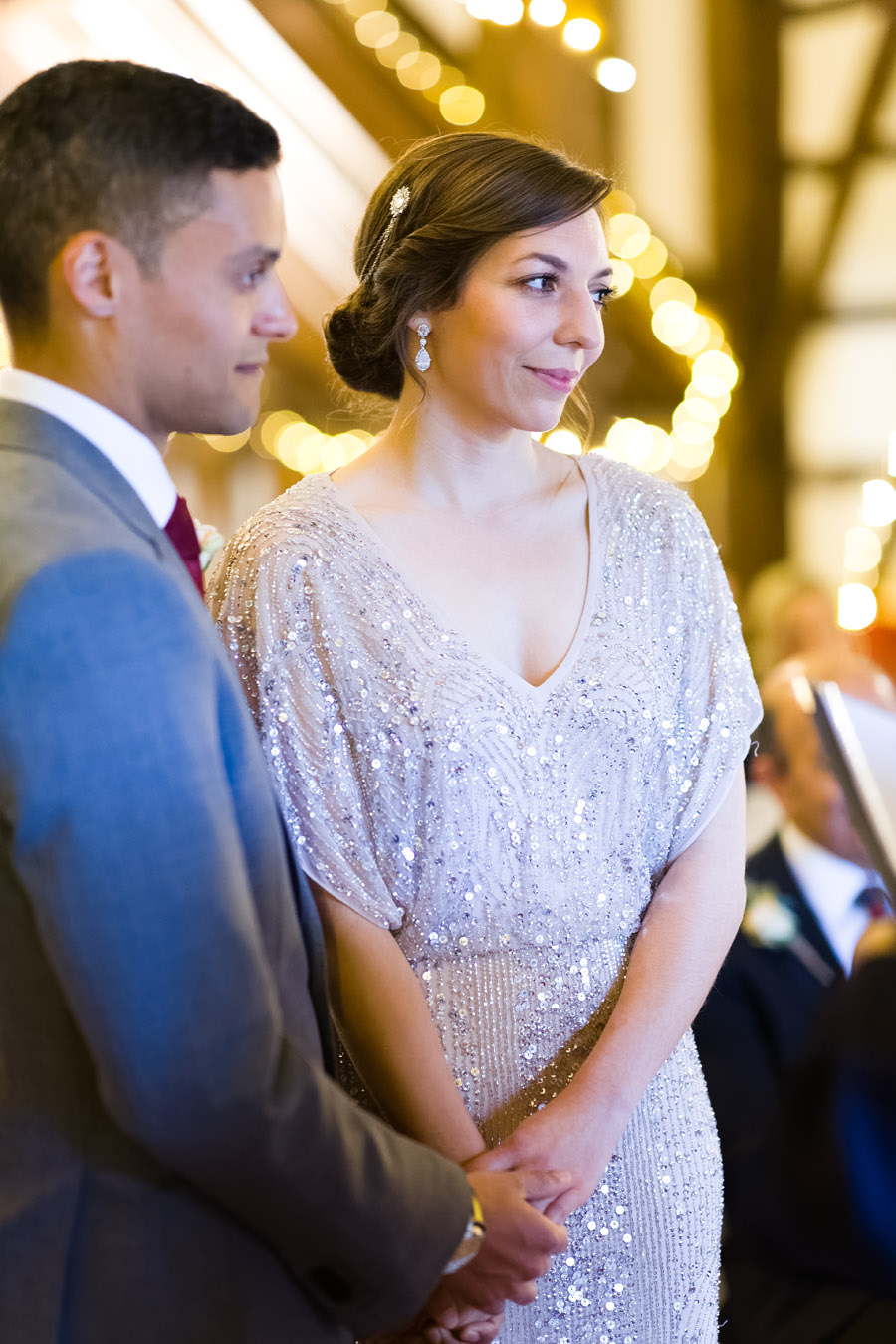 A Jenny Packham bride at The Plough at Leigh, with Terence Joseph Photography (11)